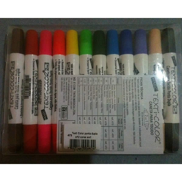 Kit Canetinhas 12 cores