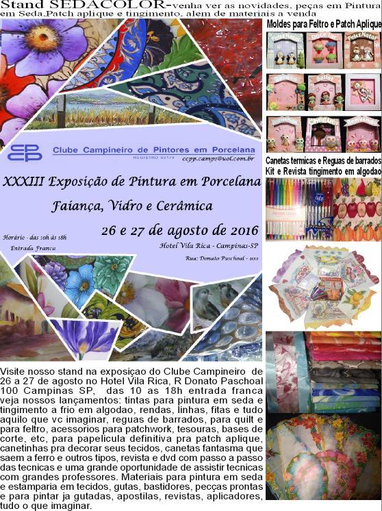 XXXIII Exposição de Pintura em Porcelana, Faiança, Vidro e Cerâmica