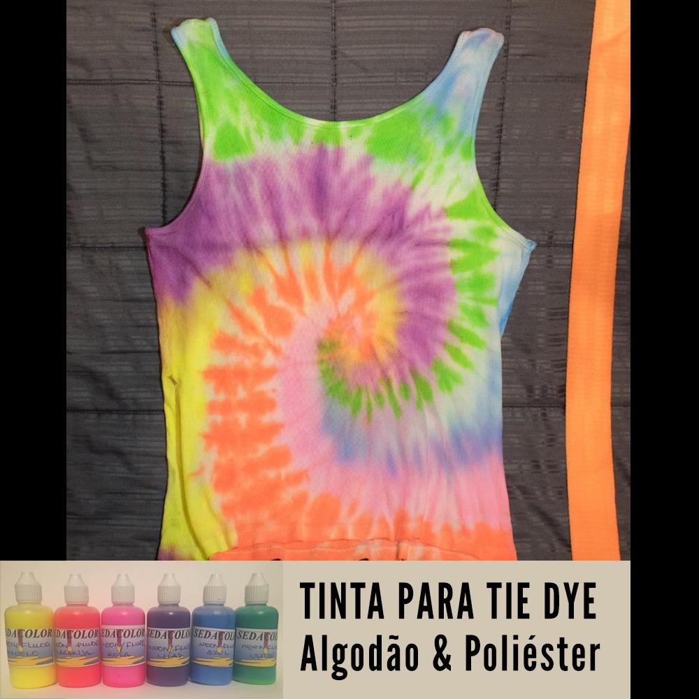 Tinta para Tie Dye